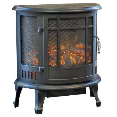 Richmond 700 sq. ft. Curved Front Infrared Electric Stove