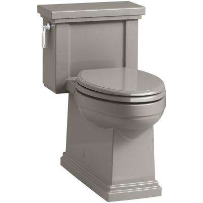 Tresham 1-piece 1.28 GPF Single Flush Elongated Toilet in Cashmere