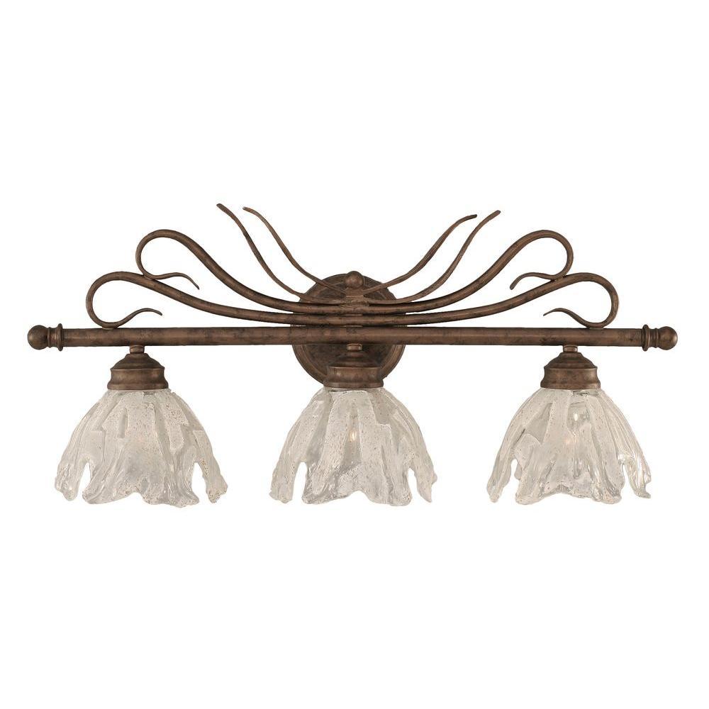 Filament Design Concord 3-Light Bronze Incandescent Wall Vanity Light