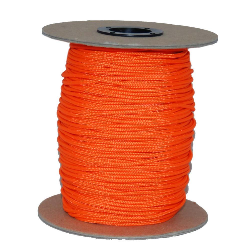 #2-3/4 in. Crosslace 300 ft. - Neon Orange