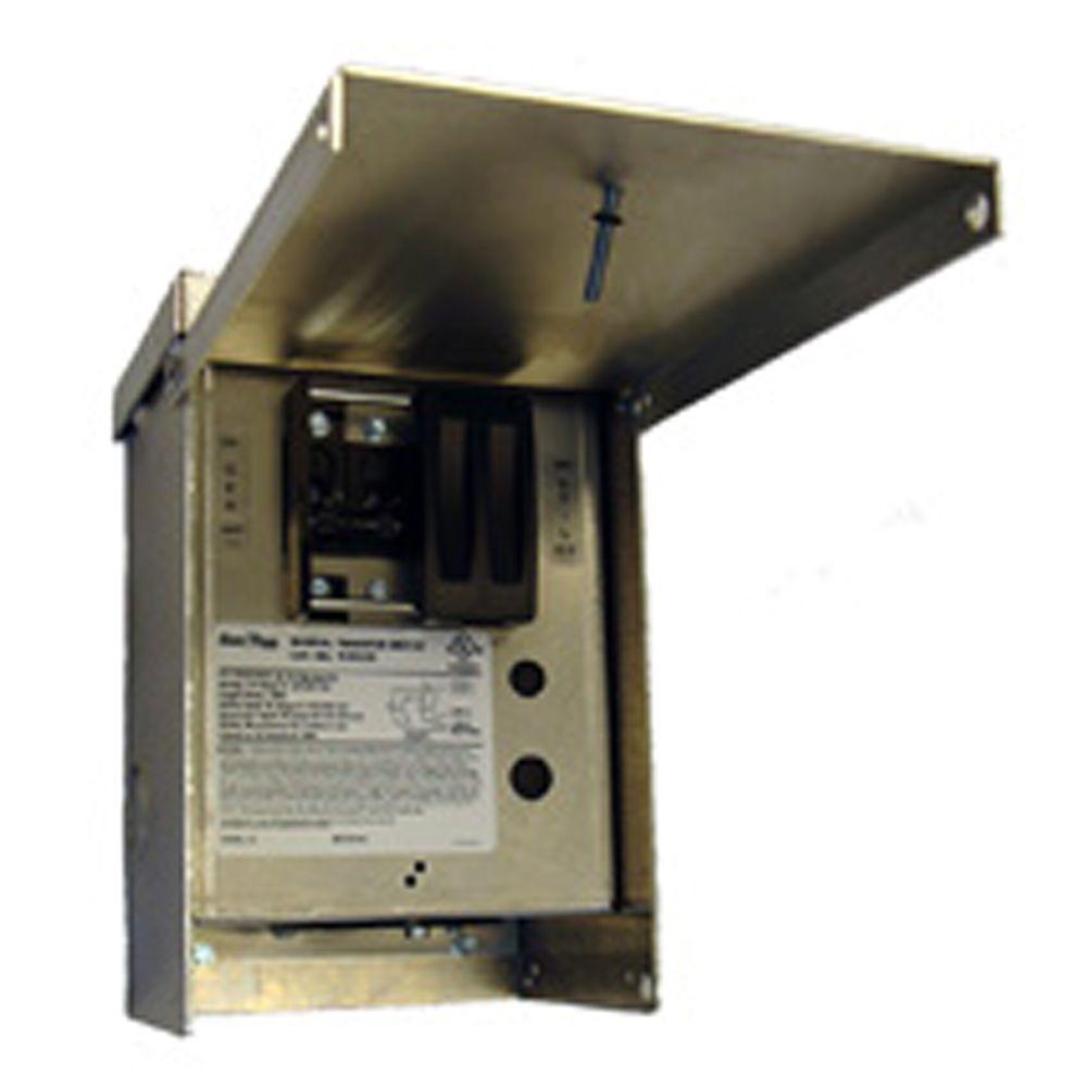 30-Amp 125/250-Volt 7,500-Watt 1-Circuit Manual Transfer Switch