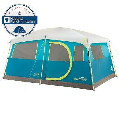 8 Person Tenaya Lake Fast Pitch Cabin Tent with Closet