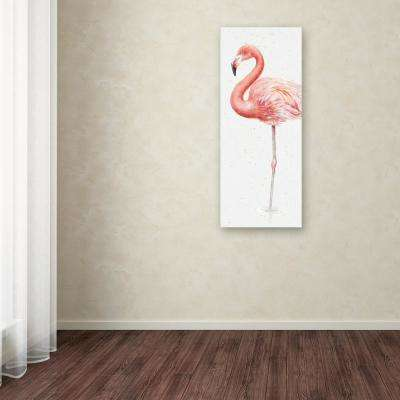 """19 in. x 8 in. """"Gracefully Pink VII"""" by Lisa Audit Printed Canvas Wall Art"""