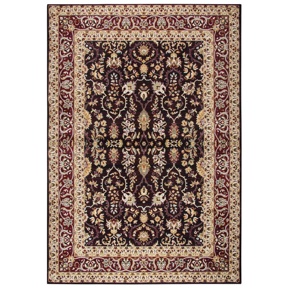 Rizzy Home Zenith Red Multi 8 Ft. X 11 Ft. Area Rug