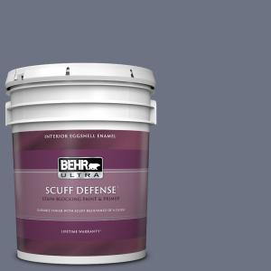 Behr Ultra 5 Gal Mq5 39 Artistic License Extra Durable Eggshell Enamel Interior Paint And Primer In One 275305 The Home Depot
