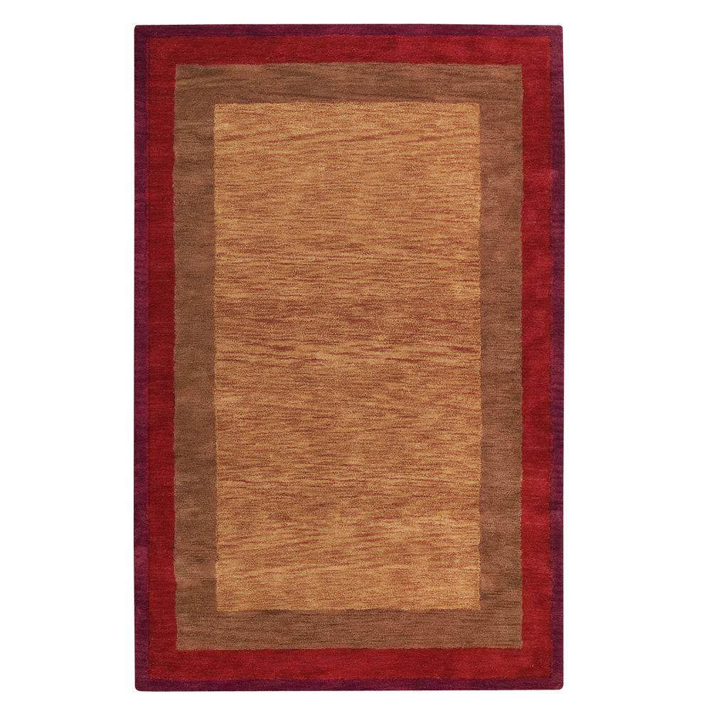 Home Decorators Collection Karolus Rust 2 ft. 6 in. x 4 ft. 6 in. Accent Rug