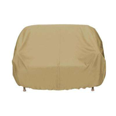 Khaki Patio Sofa Cover