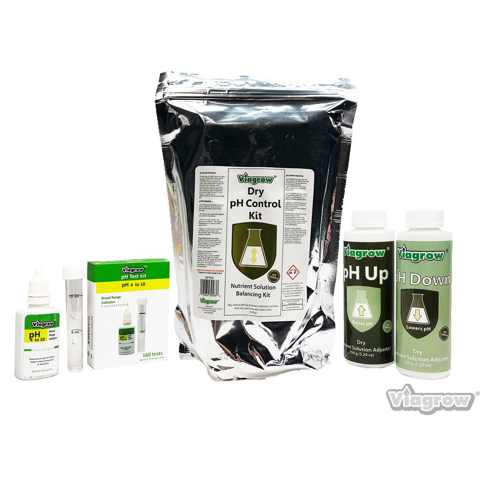 Hydroponics Organic pH Testing and Adjusting Kit