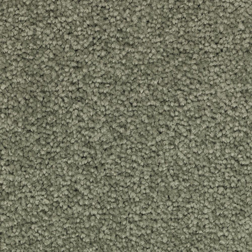 Unblemished II-Color Meditation Textured 12 ft. Carpet