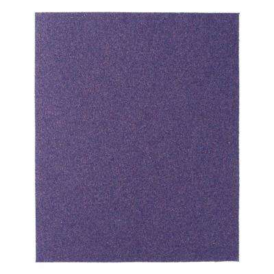 Pro Grade Precision 9 in. x 11 in. 80-Grit Coarse Faster Sanding Sheets (Case of 20 4-Packs)