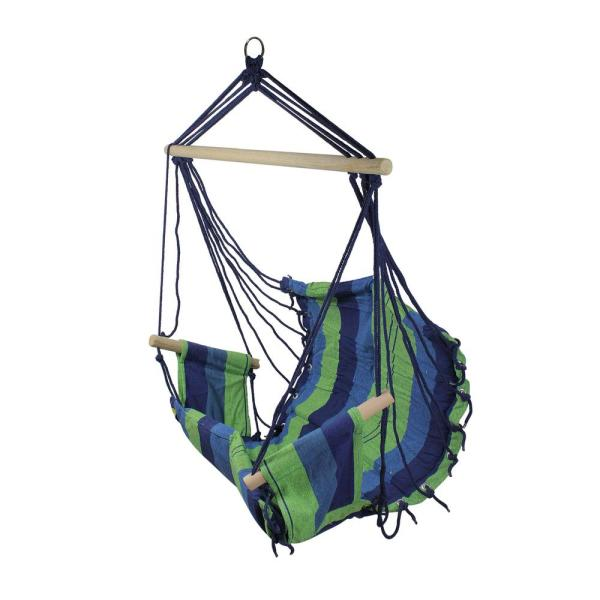 Northlight 23 In X 39 In Striped Pattern Hammock Chair In Multi