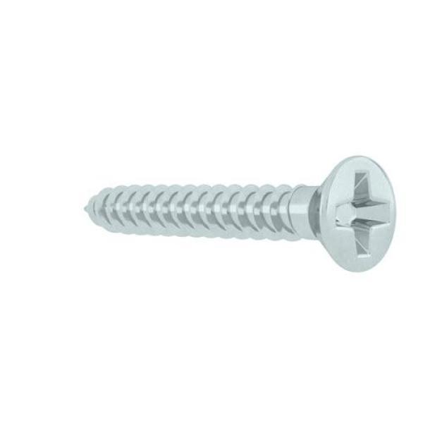 Hard-to-Find Fastener 014973289614 Phillips Flat Sheet Metal Screws Piece-100 4 x 3//4
