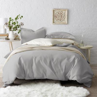 Solid 450-Thread Count Wrinkle-Free Sateen Duvet Cover