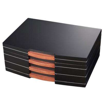 Gerard Black Polished Wood Humidor