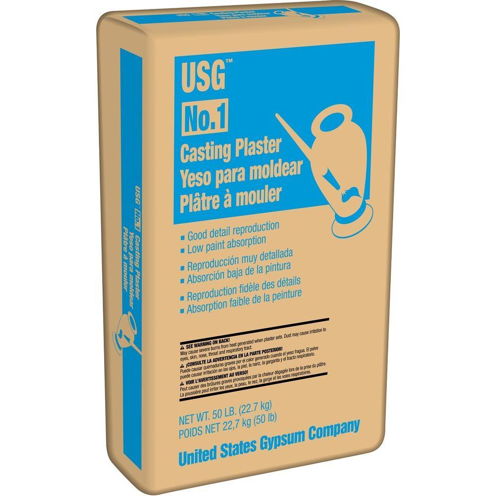 USG 50 lb. No. 1 Casting Plaster-101140 - The Home Depot