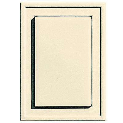 4.5 in. x 6.3125 in. #020 Heritage Cream Raised Mini Mounting Block