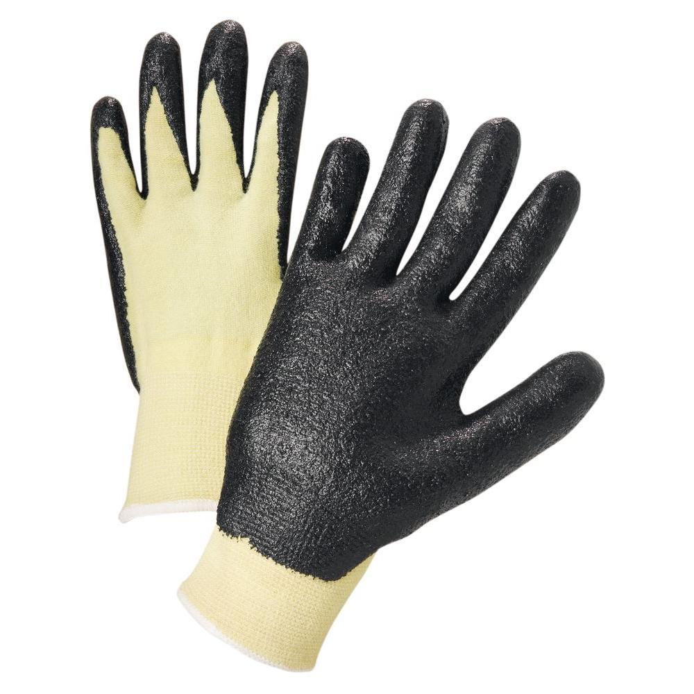 Nitrile Coated Kevlar Dozen Pair Gloves-Extra Small
