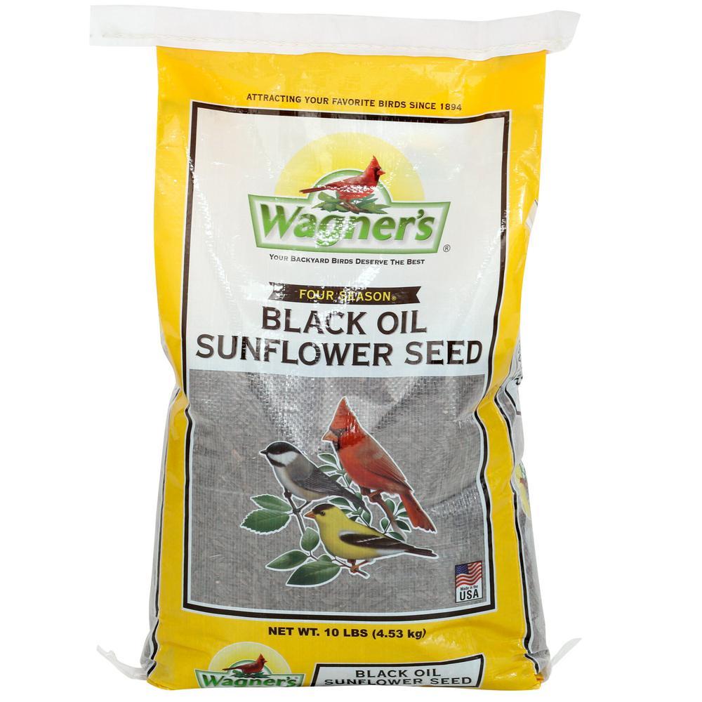 Wagner's Four Season 10 lb. Black Oil Sunflower Seed