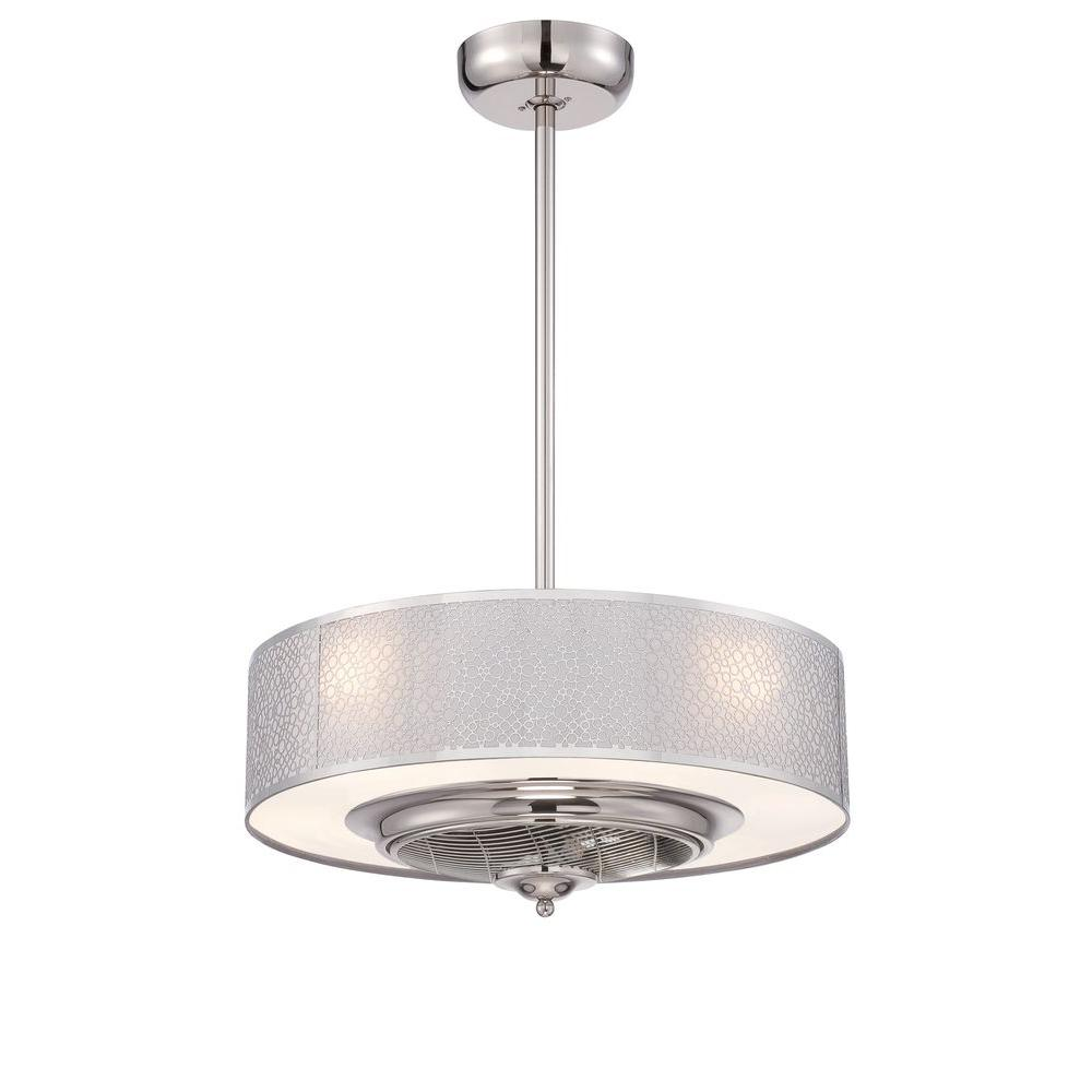 World imports cozette collection 24 in indoor satin nickel ceiling world imports cozette collection 24 in indoor satin nickel ceiling fan with remote control arubaitofo Choice Image