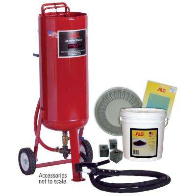90 lb. Portable Pressure Abrasive Blaster With Starter Kit