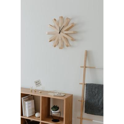 RIBBONWOOD WALL CLOCK 20.25IN NATURAL