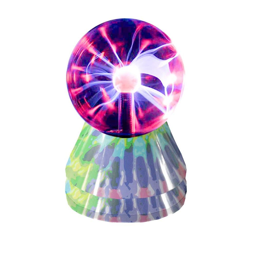 Rock Your Room 3 in. Mini Plasma Tie Dye Lamp