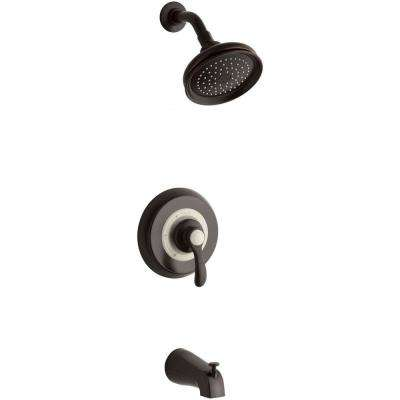 Fairfax Single-Handle 1-Spray Tub and Shower Faucet in Oil Rubbed Bronze (Valve Not Included)