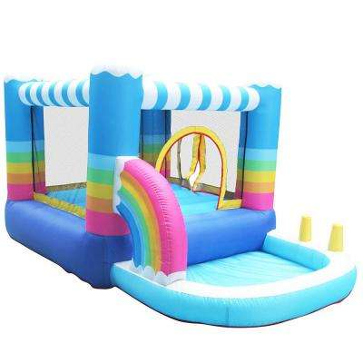 Inflatable Bounce House with Built-In Ball Pit