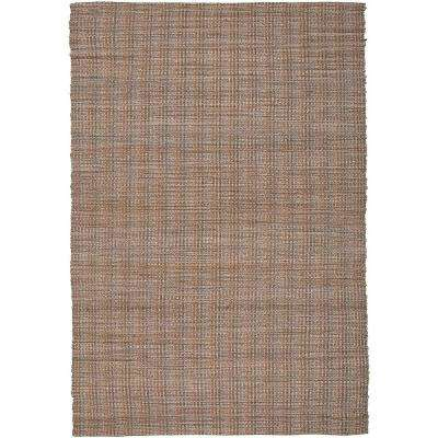 Contemporary Hebrides Rectangle 8 Ft X 10 Braided Natural Fiber Indoor Area Rug