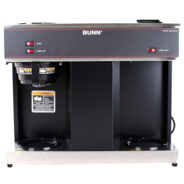 VPS 12-Cup Commercial Coffee Maker with 3 Warmers, 04275.0031