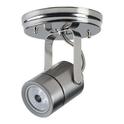 Nickel Dimmable Track Lighting Head