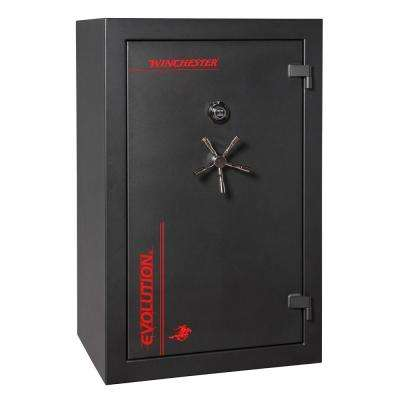 Evolution 36 cu. ft. 40-Gun 60 Minute Fire Resistant U.L. Mechanical Lock Modular Interior Gun Safe, Flat Black