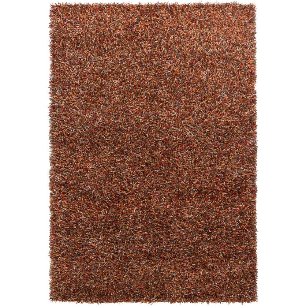 Chandra Astrid Red Orange Brown Grey Black 9 Ft X 13 Ft Indoor