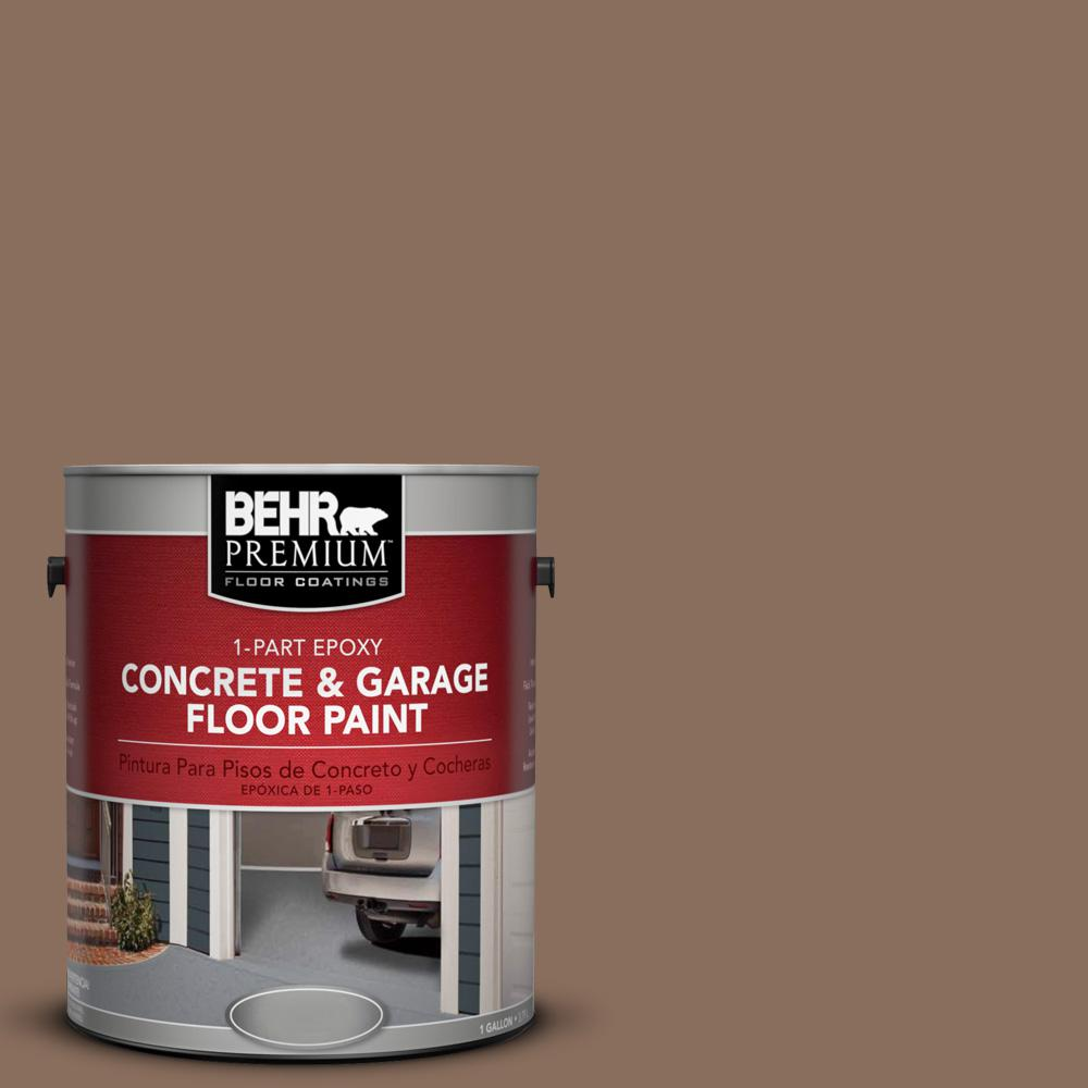 1 gal. #N190-6 Nut Brown 1-Part Epoxy Concrete and Garage Floor