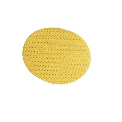 8.85 in. 240-Grit Round Sandpaper for Giraffe GE 5 Drywall Sander with Perforated Backing (15-Pack)