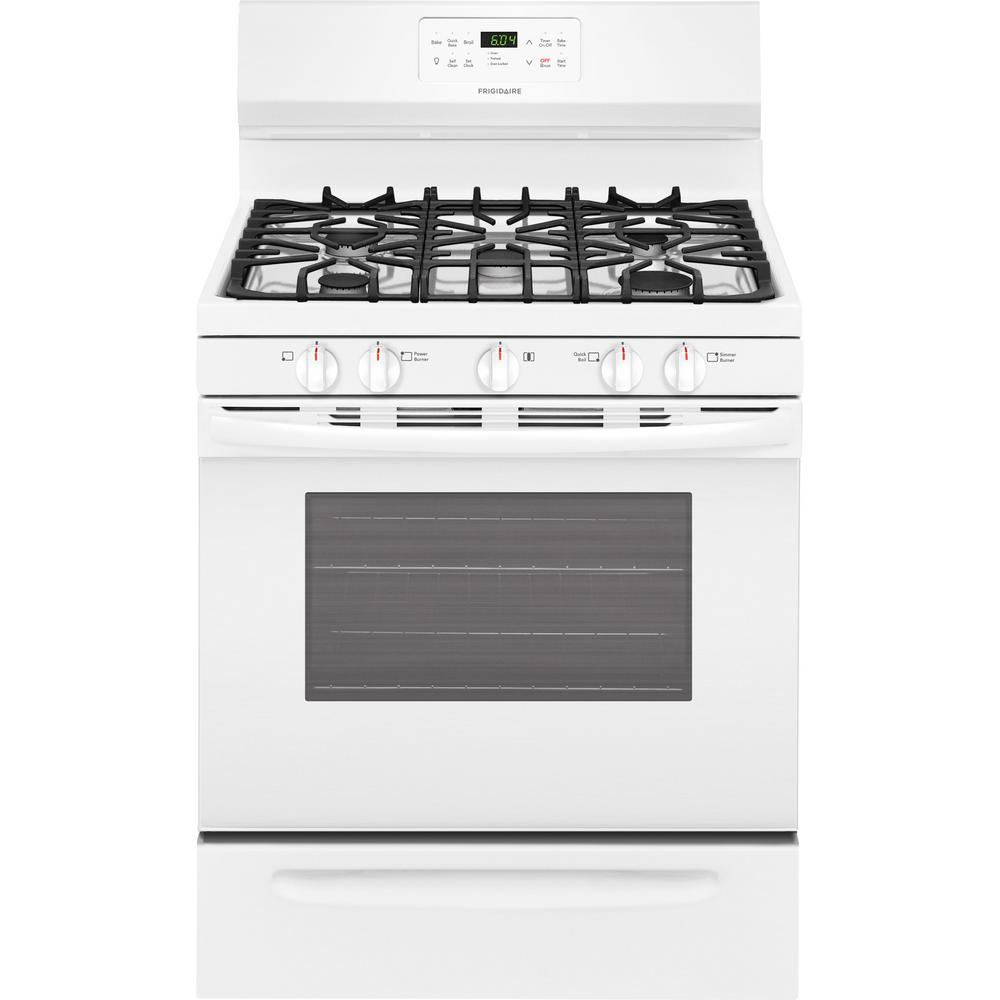 Frigidaire 5 0 Cu Ft Gas Range With Self Cleaning