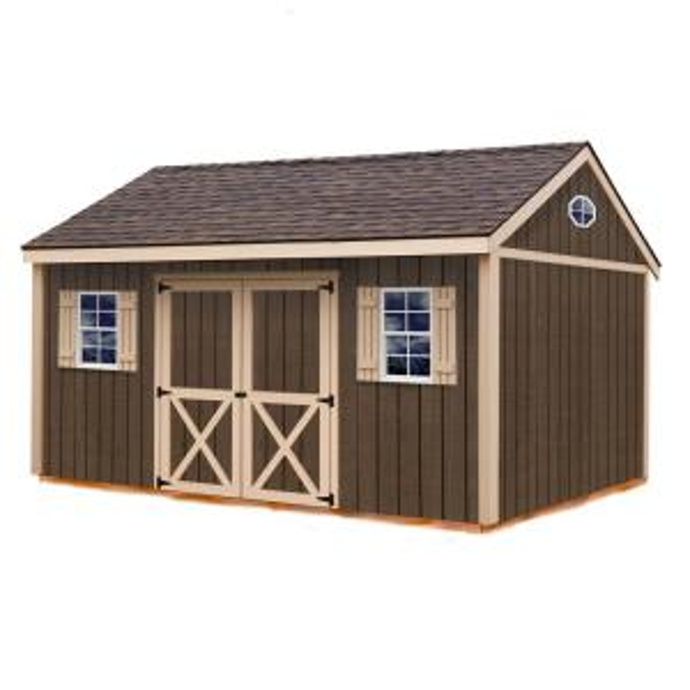 Wood Storage Shed Kit