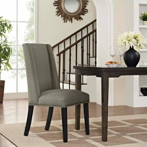 Pleasing Modway Baron Granite Fabric Dining Chair Eei 2233 Gra The Machost Co Dining Chair Design Ideas Machostcouk