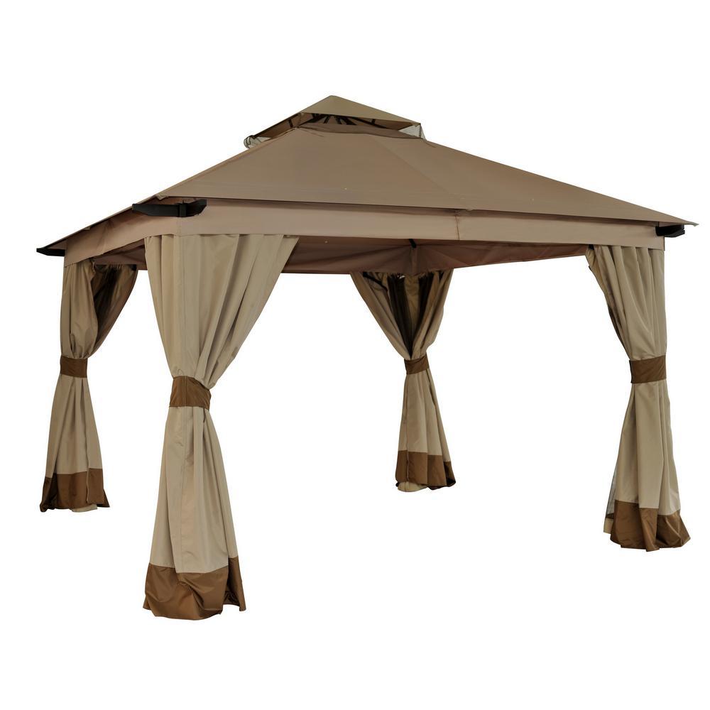 Sunjoy Replacement Canopy Set For L Gz224pal 1 12x12 Santa