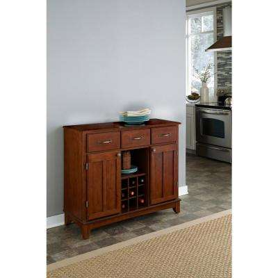 Cherry Buffet with Wine Storage