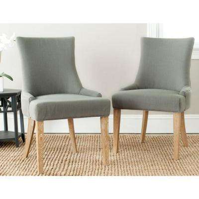 Lester Granite Linen Dining Chair (Set of 2)