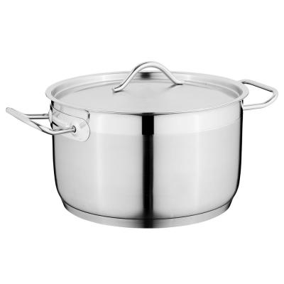 Hotel 9.5 in. Stainless Steel Covered Casserole