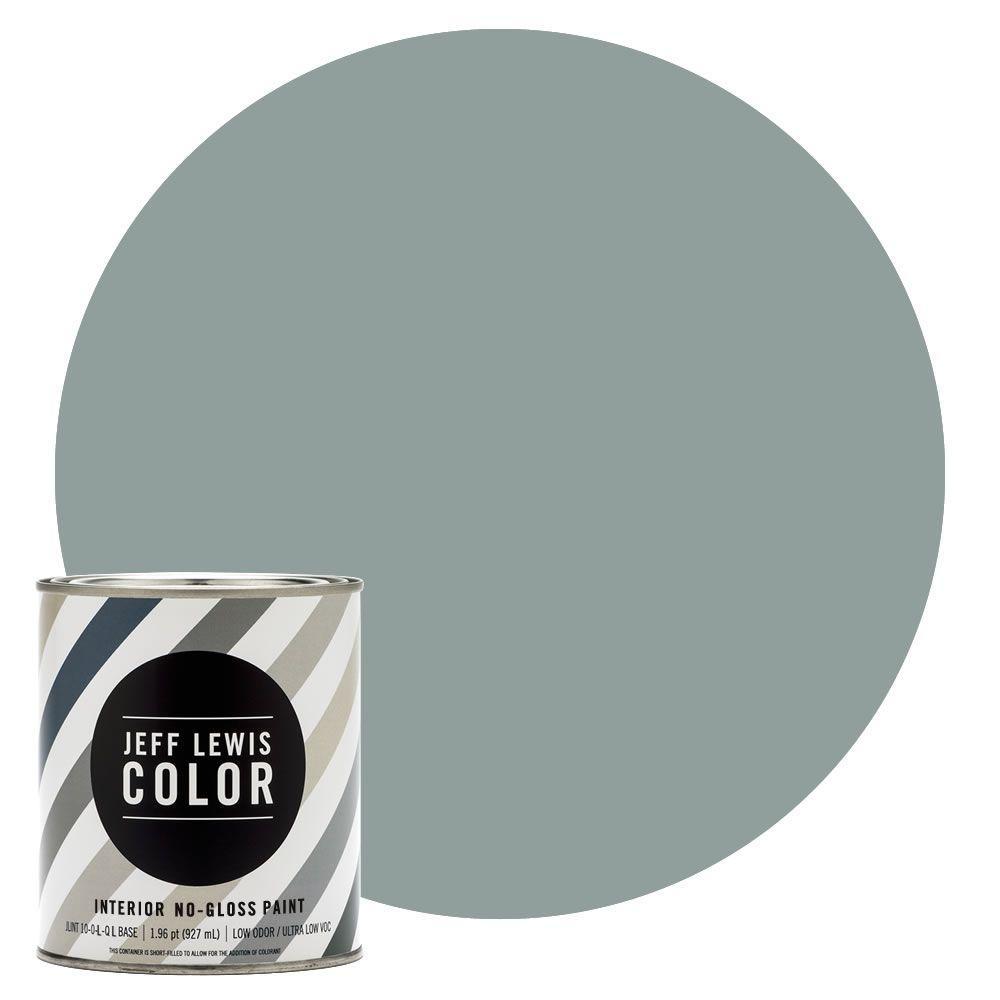Jeff Lewis Color 1-qt. #JLC312 Agave No-Gloss Ultra-Low VOC Interior Paint