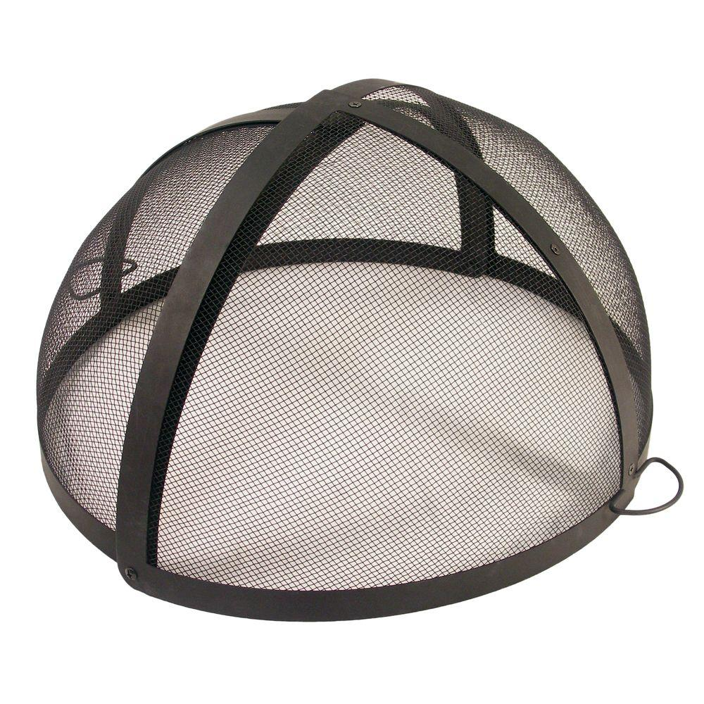 Catalina Creations 32 In Fire Pit Folding Spark Screen Ad114 Ts