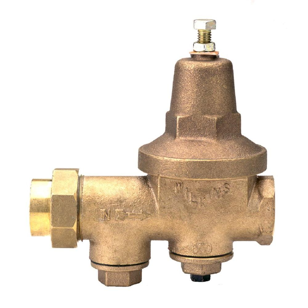 zurn wilkins 2 in lead free bronze fpt x fpt water pressure reducing valve 2 600xl the home depot. Black Bedroom Furniture Sets. Home Design Ideas
