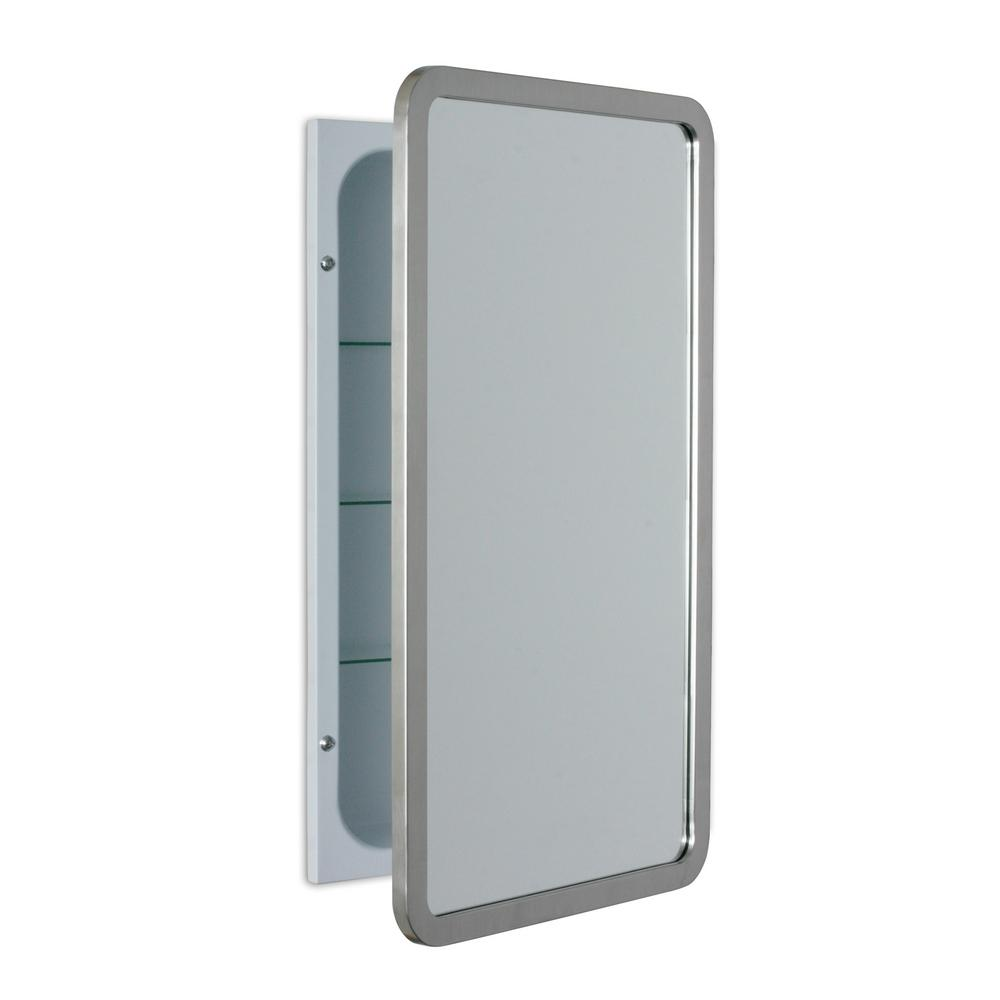 Pegasus 20 In W X 30 In H Recessed Or Surface Mount Oval