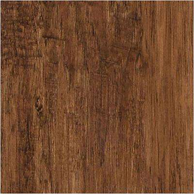Take Home Sample - Parkhill Cross Timber 2G Fold Down Click Luxury Vinyl Plank Flooring - 5 in. x 7 in.