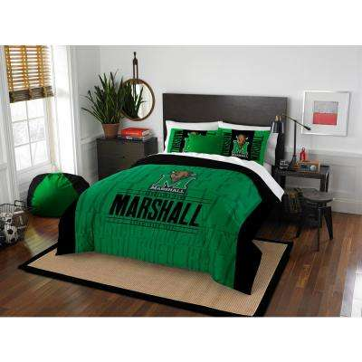 Marshall 3-Piece Modern Take Multi Full/Queen Comforter Set