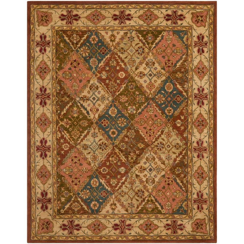Safavieh Heritage Beige 9 Ft 6 In X 13 Ft 6 In Area
