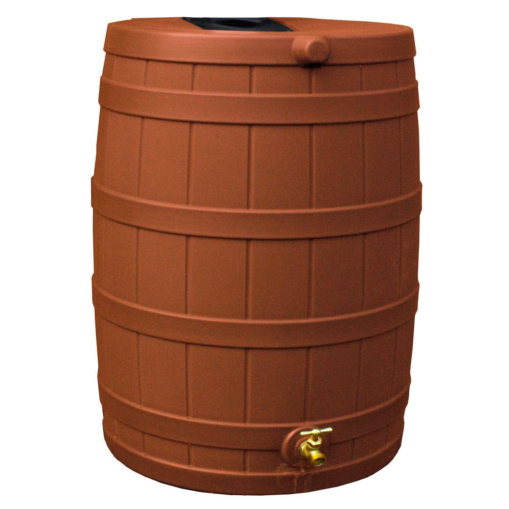 Good Ideas 40 Gal. Terra Cotta Rain Wizard